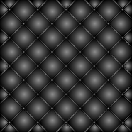 buttoned: Luxury leather vector background