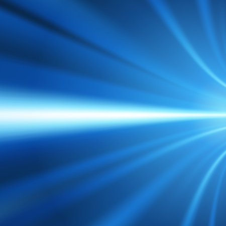 Blue smooth light lines  Vector