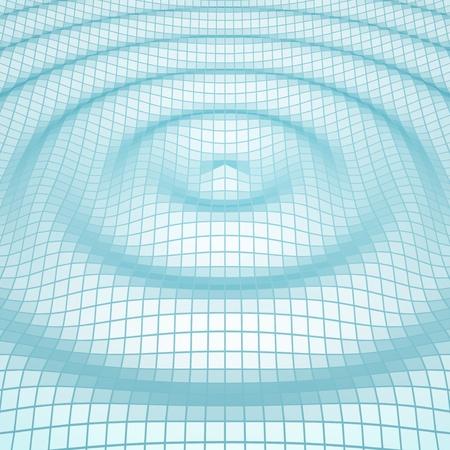 amplitude: Abstract mosaic 3d amplitude waves background Illustration
