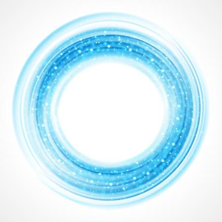 forme: Résumé fond lisse cercle de lumière