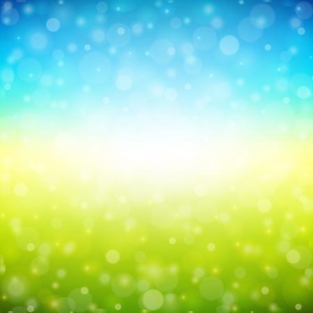 grassland: Bokeh light background