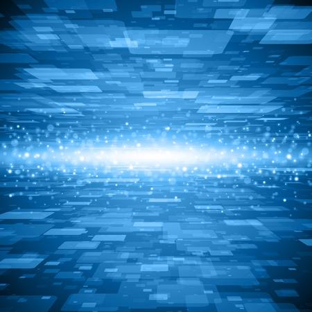 virtual space: La tecnologia Virtual sfondo dello spazio