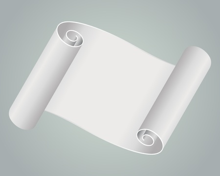 Old scroll paper background Vector