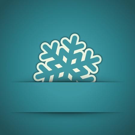 estaciones del a�o: Navidad copo de nieve apliques de fondo