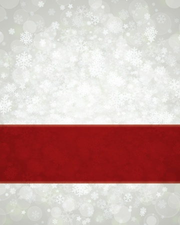 Christmas background snowflakes and light Vector
