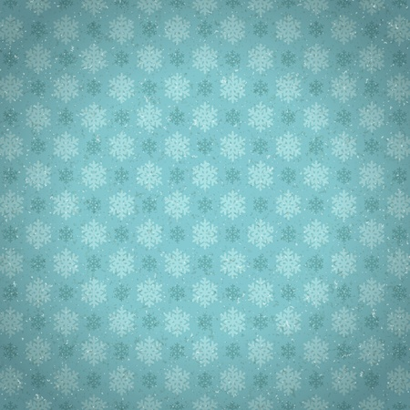 Christmas snowflakes pattern background Vector