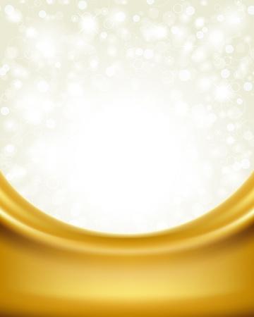 gold decorations: D�a de San Valent�n vector de fondo