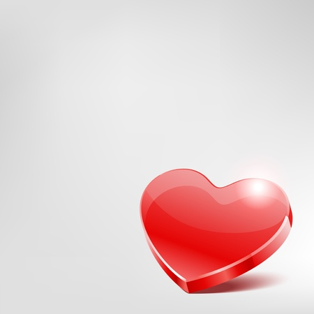 Vector background with heart  Vector