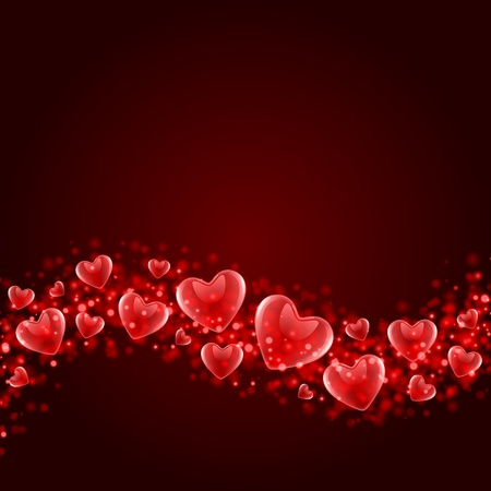 Valentines day or Wedding vector background  Vector