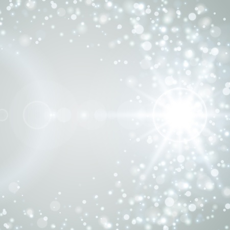 glowing: Lens flare vector background Illustration