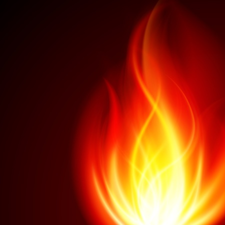 igniting: Burn flame fire vector background eps 10 Illustration