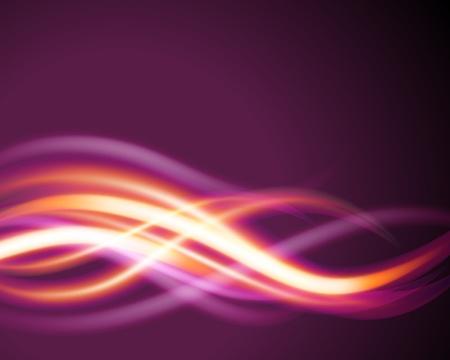 Smooth light lines vector background eps 10  Illustration