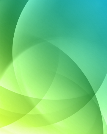 green swirl: Colorful smooth twist light lines vector background
