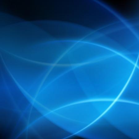 Blue smooth twist light lines background