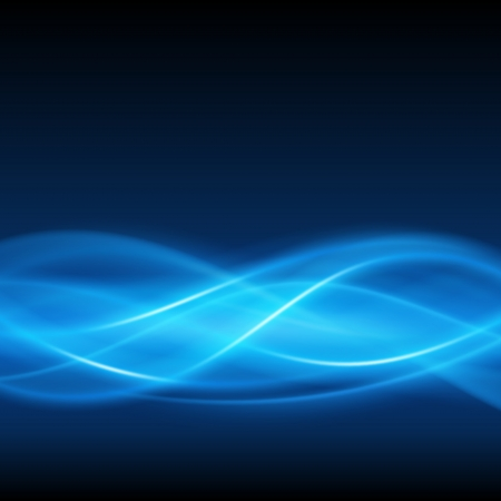 Abstract smooth light lines vector background  Vector