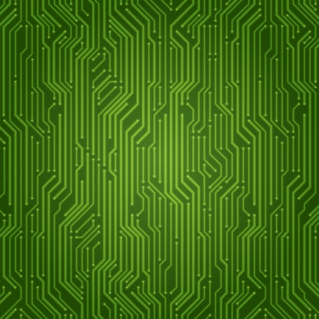 Abstract retro technology microchip vector background