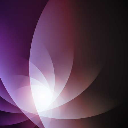 Violet smooth twist light lines  Vector
