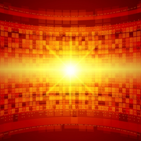 Abstract 3d technology space vector background  Vector