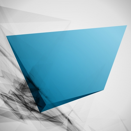 Abstract 3d geometric lines modern grunge  Vector
