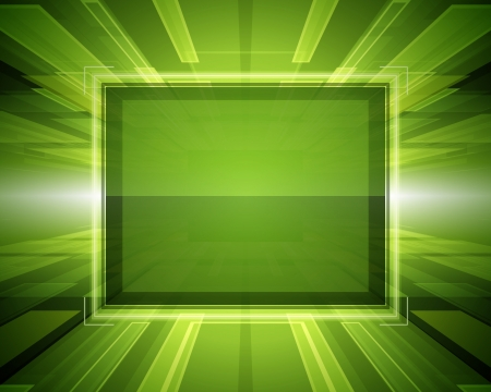 Abstract virtual space with screen vector background Stock Vector - 14005678