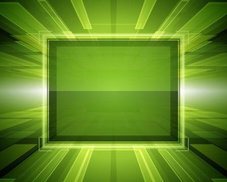 virtual space: Estratto spazio virtuale con sfondo dello schermo vettoriale
