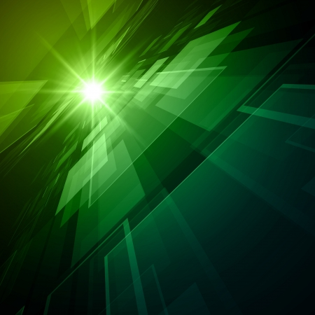 Virtual technology space vector background