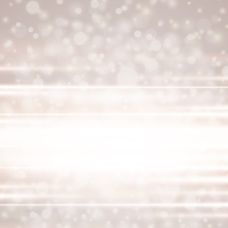 Lens flare light vector background Vector