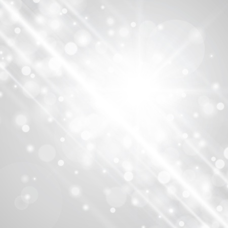 Lens flare light vector background