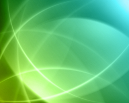 electric green: Colorful smooth twist light lines vector background