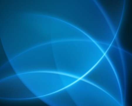 Blue smooth twist light lines vector background