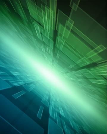 가상 기술 벡터 배경 스톡 콘텐츠 - 14005695