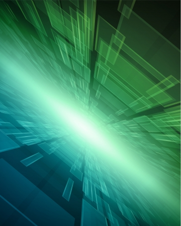 Virtual technology vector background Vector