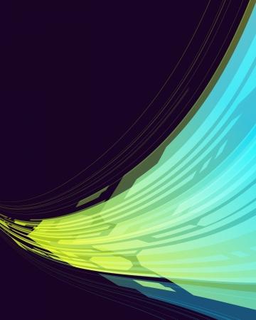 virtual space: Astratto spazio vettoriale sfondo virtuale Eps 10
