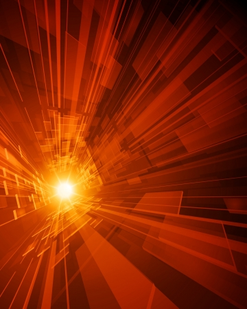 Abstract virtual space with screen vector background  Eps 10