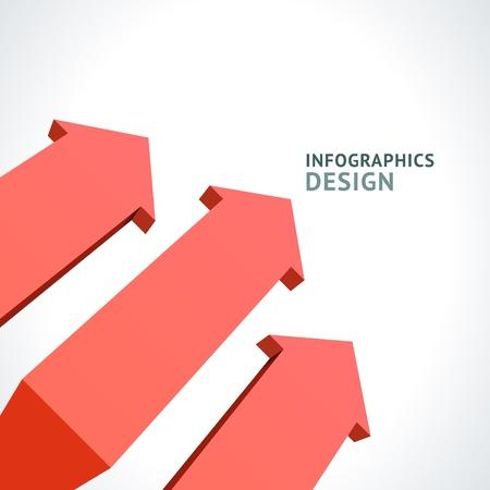 Infographics options design elements Stock Vector - 21853027