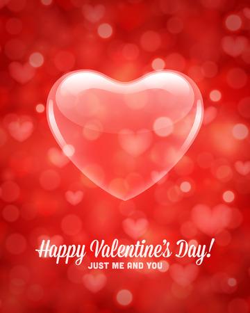 Happy Valentines day vector achtergrond