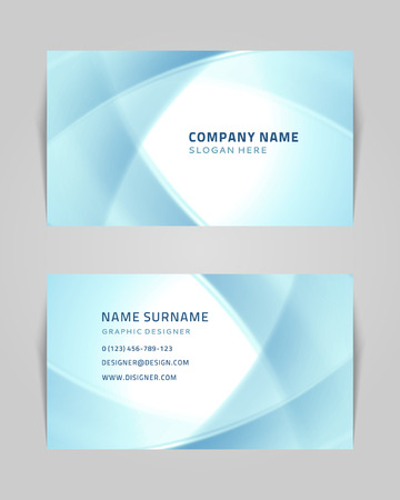 calling card: Vector abstract creative business card design template  Technology background