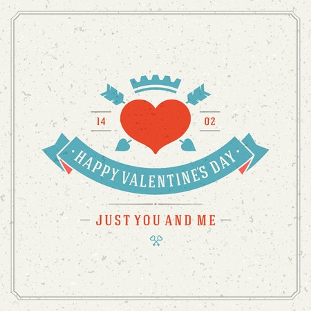 february 14: Happy Valentines Day vector background
