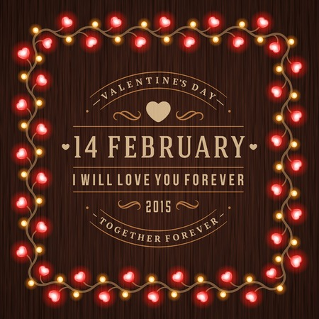 marriage night: Happy Valentines Day vector background