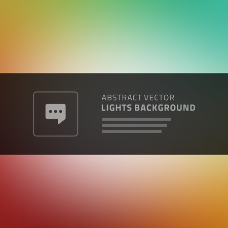 idea icon: Abstract vector background for website header, banner, presentation or brochure, beautiful blurred light