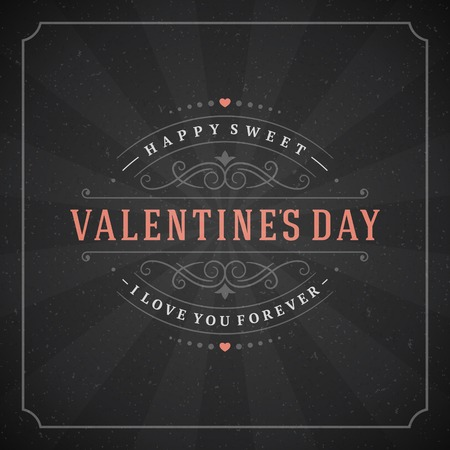 retro backgrounds: Happy Valentines day Greeting Card