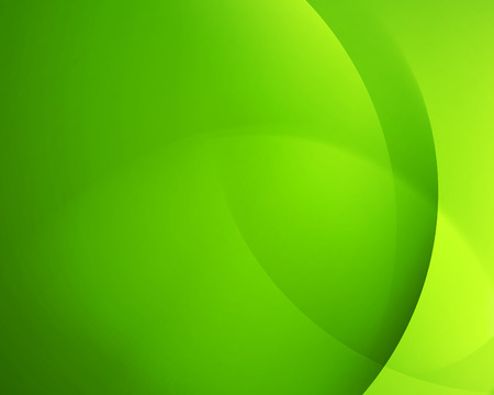 Green smooth twist light bright wave lines vector abstract background