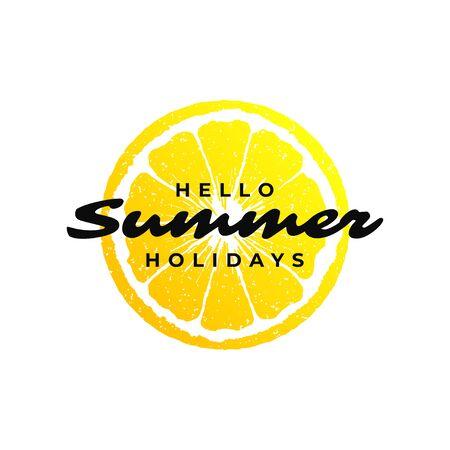 Typography summer holidays t-shirt design vector illustration. Vecteurs
