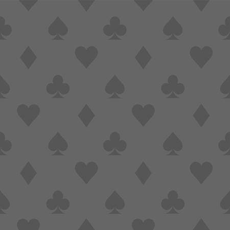 Vektor-Illustration. Karte Symbol grau Muster Wallpaper Vektor Hintergrund. Karte passt nahtloses Muster. Vektorgrafik