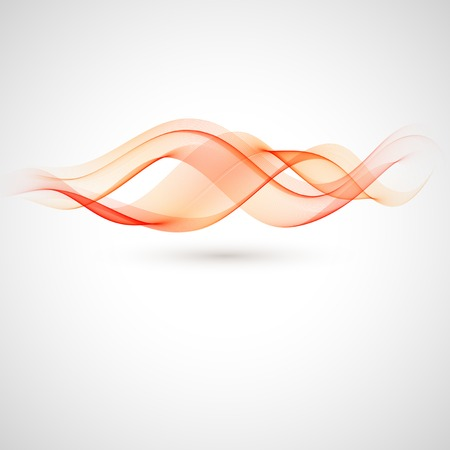 broshure: Vector abstract red wave background. Broshure design