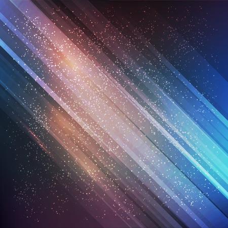 arte abstracto: Resumen de vectores de fondo futuro. L�neas de gradiente de color Vectores