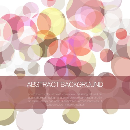 eps10: Abstract colorful vector background with circle shape.