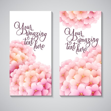 Vektor-Illustration Sommer Blume Hintergrund Standard-Bild - 37118232