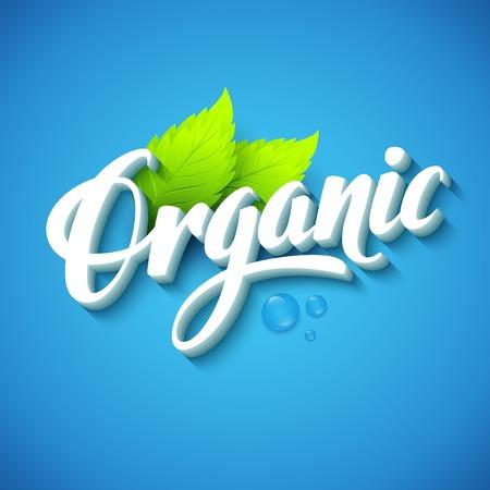 Vector organic background