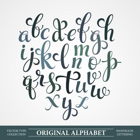 lettres alphabet: L'alphabet original